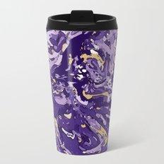 Purple Rain Metal Travel Mug