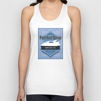ale giorgini Tank Tops featuring Full Sail Barge Ale by Mike Sapora Demaine