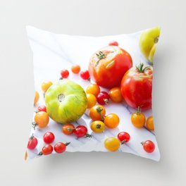 Tennessee Tomatoes 2 Throw Pillow