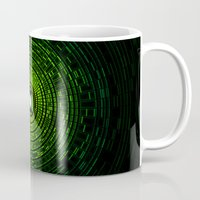 green lantern Mugs featuring Green Lantern by Electra