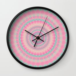 Mandala 418 Wall Clock
