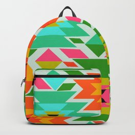 Ethnic with a tropical summer vibe Backpack