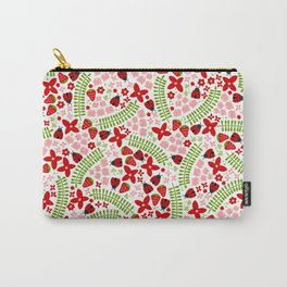 Lovely Ladybugs and Berries Carry-All Pouch
