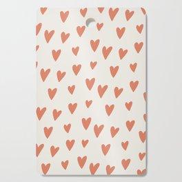 Hearts Hearts Hearts Cutting Board