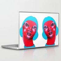bubble Laptop & iPad Skins featuring BUBBLE by Zelda Bomba