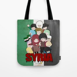 SYRIA - We're With You Tote Bag