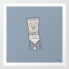 Bad Taste Toothpaste  Art Print