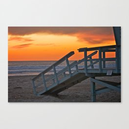 Venice Steps at Sunset Canvas Print