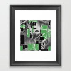 Pyramids, Light, Legs and Honey Framed Art Print