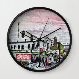 Argenta Drug Co. Wall Clock