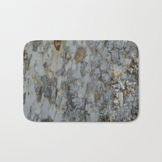 TEXTURES -- California Sycamore Bark Bath Mat