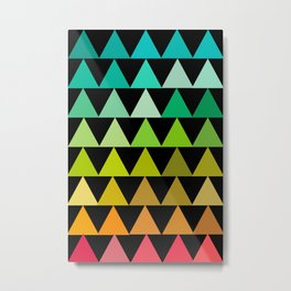 The triangles Metal Print