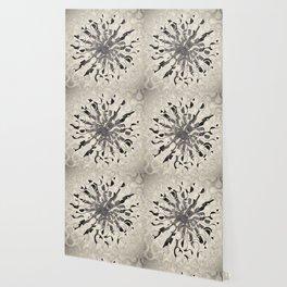 Vintage Tear Drop Abstract Wallpaper