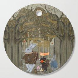 a little woodland adventure Cutting Board