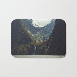 Milford Sound Waterfall Bath Mat