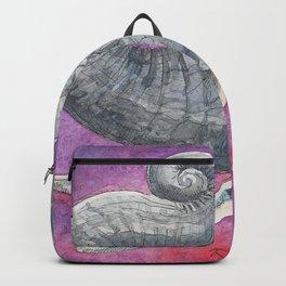 Happy Elephant Watercolor Backpack