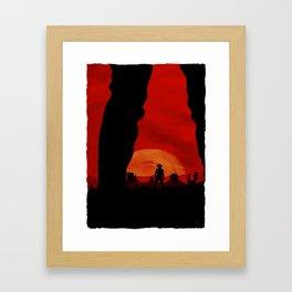 """Redemption Is Dead"" Framed Art Print"