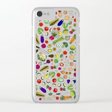 Vegetable Soup Recipe Clear iPhone Case