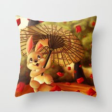 Year of the Bunny Throw Pillow