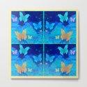 Classy Butterfly Origami Window Print by carlieamberpartridge