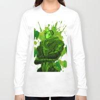 garrus Long Sleeve T-shirts featuring GARRUS - MASS EFFECT by MarcoMellark