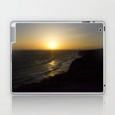 Cliff Top Sunset Laptop & iPad Skin