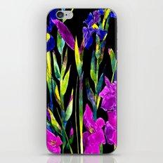black iris iPhone & iPod Skin
