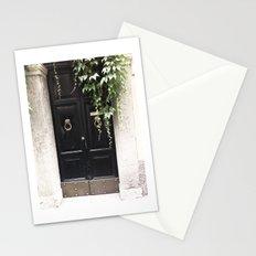 Doors of Rome, Dark wine Stationery Cards