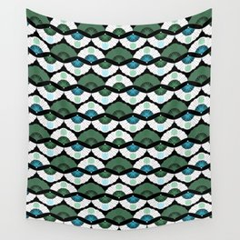 Green Vintage Wall Tapestry