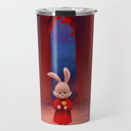 On the Red Forest Travel Mug