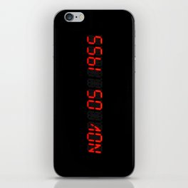 Nov 05 1955 - Back to the future iPhone Skin