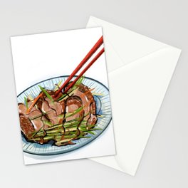 Roast Duck Stationery Cards