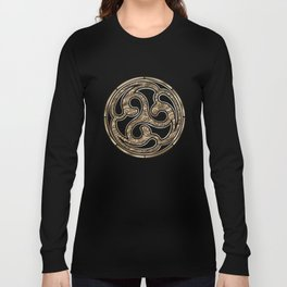 Bronze Medallion Long Sleeve T-shirt