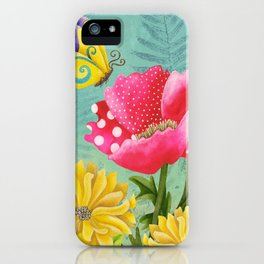 Wondrous Garden iPhone Case
