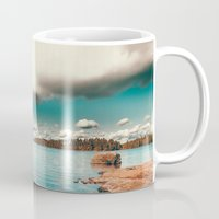 swedish Mugs featuring Belle Svezia by HappyMelvin