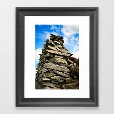Lake District Rocks.  Framed Art Print