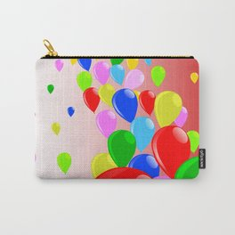 Fly Away Balloons Carry-All Pouch