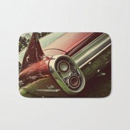 Vintage Car : Red Coupe De Ville Bath Mat