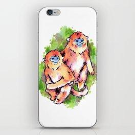 Golden Monkeys iPhone Skin