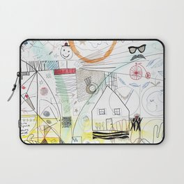 A Family Collaboration - 'No Place Like Home' Laptop Sleeve