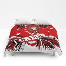 Cheer Cheer Cheerleader Comforters