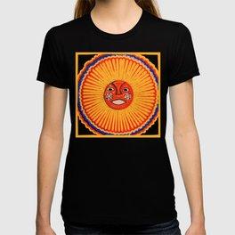 The sun Huichol art T-shirt