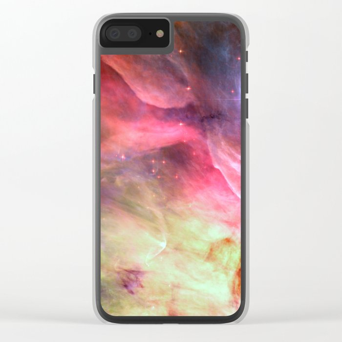 Space 04 Clear iPhone Case