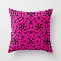 calavera Throw Pillows featuring Calavera by jikama azpeitia