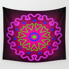 Symmetric composition 27 Wall Tapestry