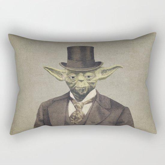 Sir Yodington  - square format Rectangular Pillow