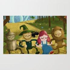 Wizard of Oz fan art Rug