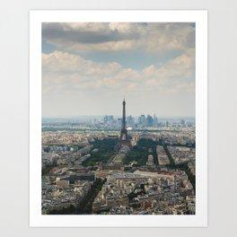 Tour Eiffel III Art Print