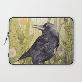 Canuck the Crow Laptop Sleeve