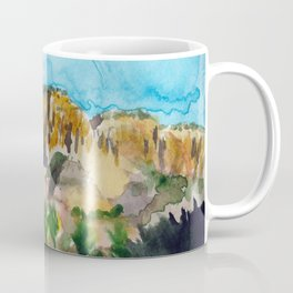 sunset in the valley Coffee Mug